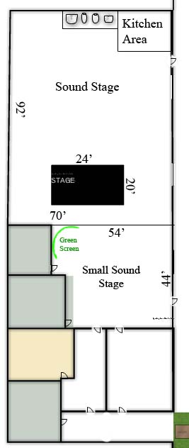 Scottsdale Studios Floor plan